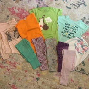 Play Clothes Bundle. Girls size M & 7/8.